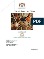 India Pulses Report January 2012