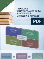Aspectos Conceptuales de La Psicologia Juridica y Forense