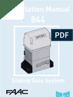 Motorized Gate FAAC
