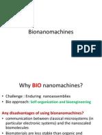 Nano Bio Machines