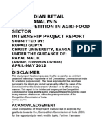 FDI-Agri Food Sector