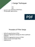 Filter Design Techniques