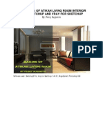 Making of Atikah Living Room by Ferry Sugianto
