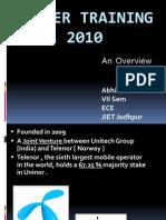Basics of GSM & MNP