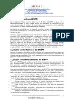 Preguntas Frecuentes de Politica Monetaria(Bcrp) 2012-2