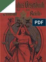 Bürgerliches Gesetzbuch für das Deutsche Reich (1901)