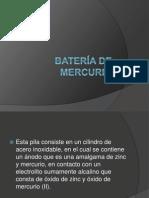 La batería de mercurio