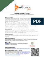 EdcampNL Flyer