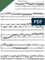 Johann Sebastian Bach - Fantasia Et Fuga in g BWV 542 - Orgue - Partition