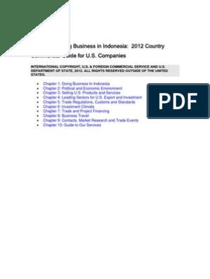 2012 CCG Indonesia Latest Eg Id 050874 | Franchising