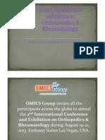 Orthopedics & Rheumatology