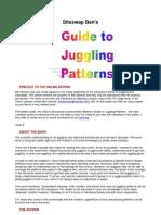 Ben Guide to Juggling Patterns