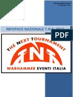 Infopack TFN 2013 1.0