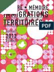 Programme de la Biennale histoire et mémoire des immigrations et des territoires