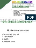 Presentation Mobile & Communication