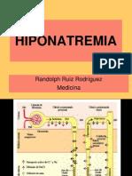 Hiponatremia - Medicina EMG