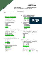 Examen Aplazados Quimica Cima