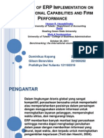The Impact of ERP Implementation on Organizational Capabilities and Firm Performance