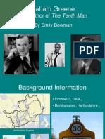 Graham Greene Powerpoint Biography