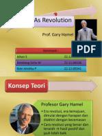 Strategy as Revolution Joz