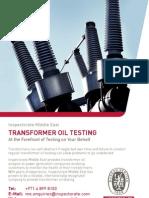 Transformer+Oil+Testing ME 0113