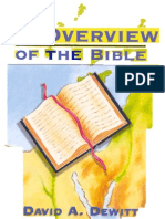 An Overview of the Bible - By David a. Dewitt