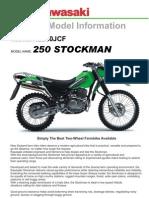 Kawasaki Motor KL250JCF