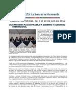 La Semana en Guatemala 2012 / jul 3 - 10