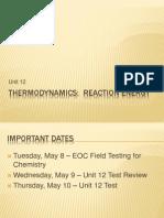 Unit 12 Thermodynamics Ppt