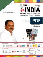 eINDIA Programme 2012 Schedule