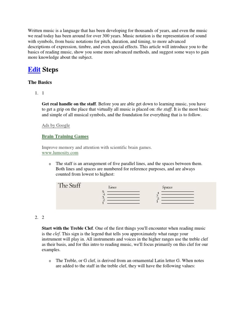 Music Language Writing Clef Scale Music