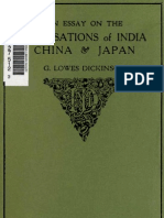 An Essay on the Civilizations of India, China & Japan_Lowes Dickenson
