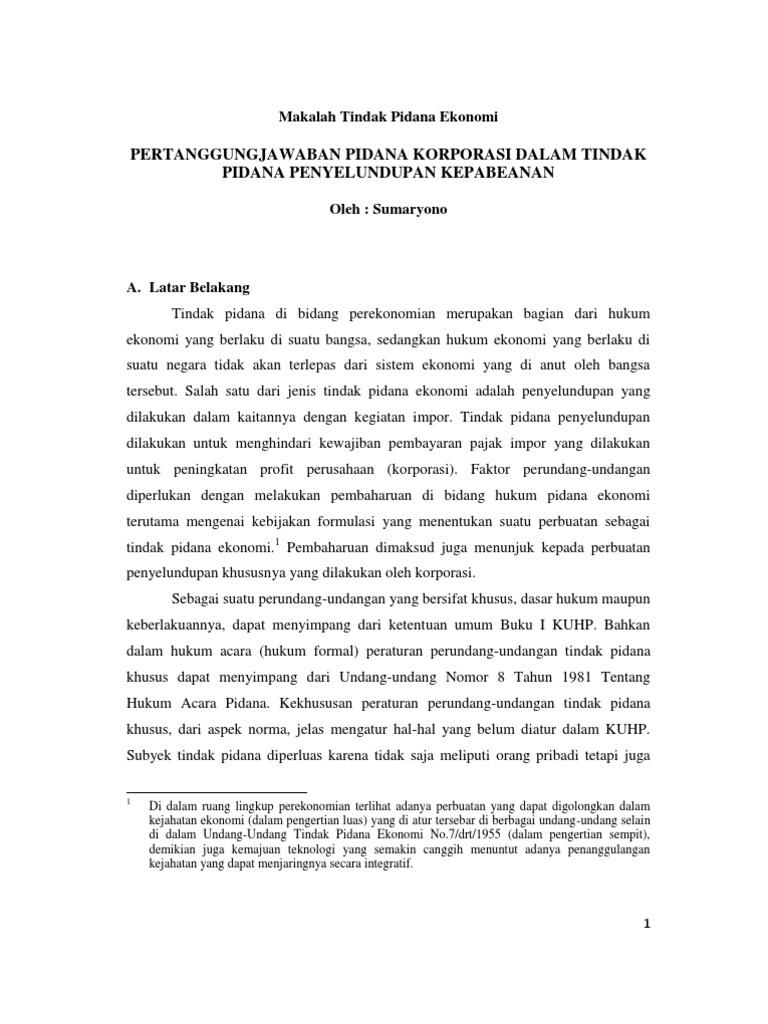 Tugas Makalah Sumaryono Prof Hartiwiningsih Smt 2