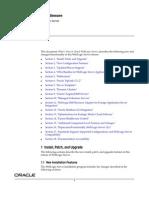 Notes on Oracle Weblogic 12c