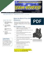 Dream Divers June 2009 Newsletter