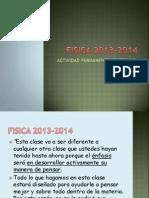 FISICA 2013-2014
