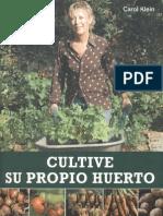 Plantas - Cultive Su Propio Huerto