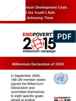 The MDGs and the Youth's Role (2)