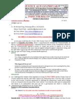 130902-G. H .Schorel-Hlavka O.W.B. to Australian Electoral Commission - COMPLAINTS