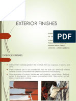 Exterior Finishes Final