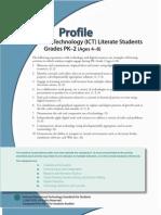 Nets s 2007 Student Profiles PreK 5