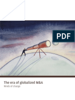 The Era of Globalized M&A
