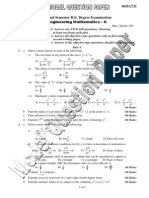 Maths 2 Model Question Paper