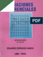 Ecuaciones Diferenciales - Eduardo Espinoza Ramos 5th