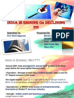 India Is Signing or Declining