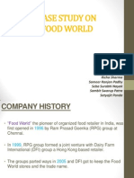 Food World Case Study