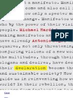 Declaration - Hardt, Michael