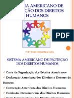 Sistema Americano de Protecatildeo Dos Direitos Humanos Vivian Cristina