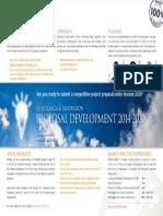 EU Research & InnovationProposal Development 2014-2020