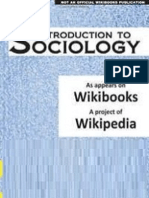 Introduction to Sociology -Wiki Book Version 2012